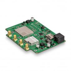 Роутер Kroks Rt-Brd RSIM DS mQ-EC с SMD модемом Quectel LTE cat.4, с поддержкой SIM-инжектора для установки в гермобокс