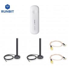 Автомобильный комплект для 4G интернета RunBit MIMO