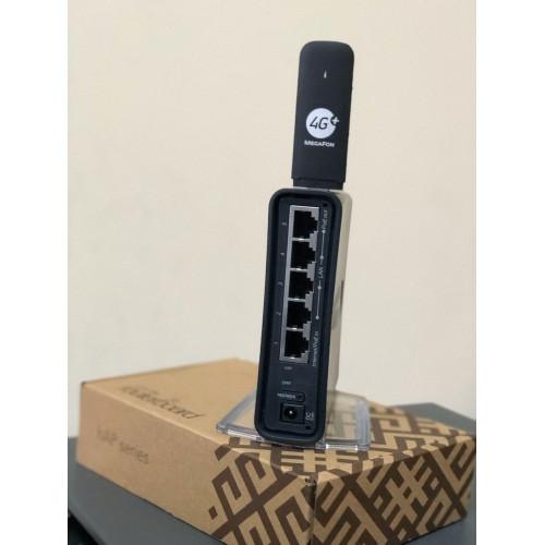 Комплект 4G модем + WiFi роутер Mikrotik hAP