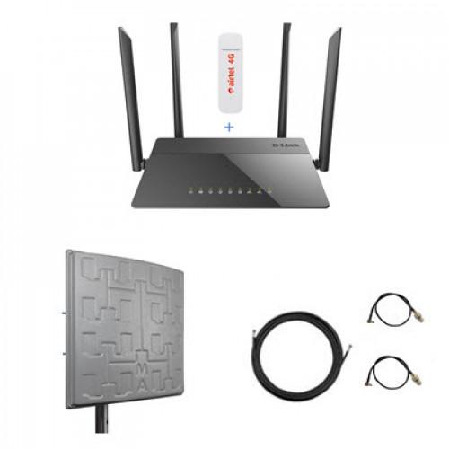 Комплект для 4G/3G интернета за город