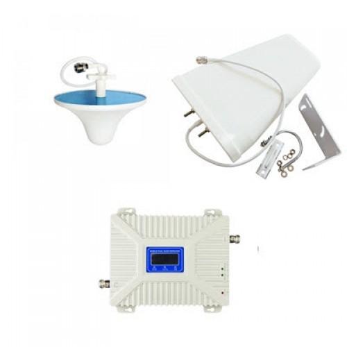 Комплект 2G/3G/4G усилитель мобильной связи и интернета 900/1800/2100 с антеннами