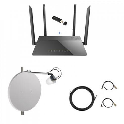Комплект 3G/4G WiFi интернет за город