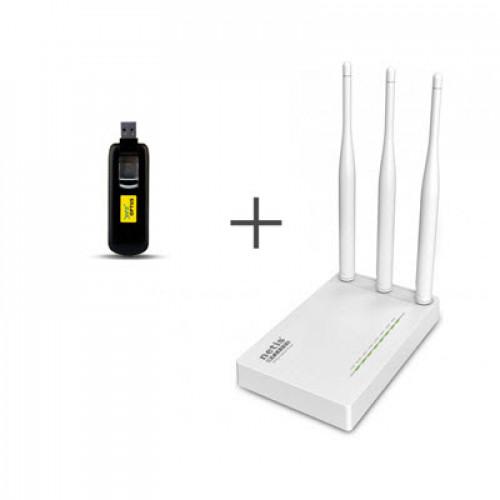 Комплект для 4G/3G интернета Huawei E3276s-601 + Netis MW5230