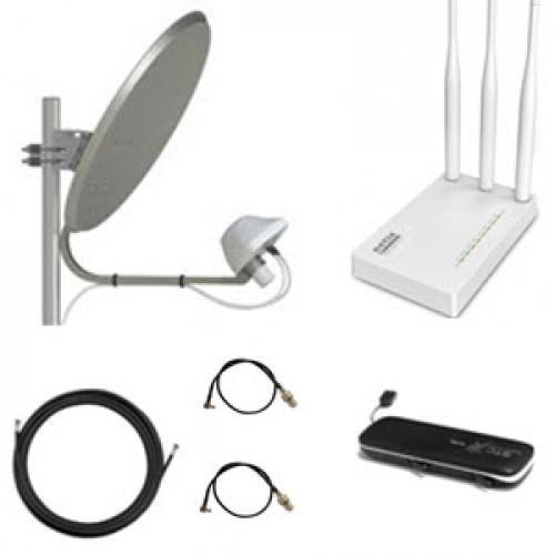 Комплект 3G/4G WiFi интернет для дома
