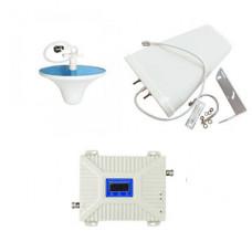 Комплект антенн с 2G / 3G усилителем мобильной связи и интернета 900/1800/2100 МГц