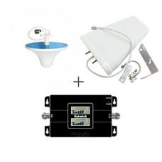 Комплект антенн с репитером Lintratek KW17L-GW GSM/4G LTE 900/3G 2100