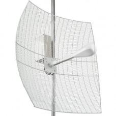 Kroks KNA27-1700/2700 BOX - параболическая MIMO антенна 27 дБ с гермобоксом