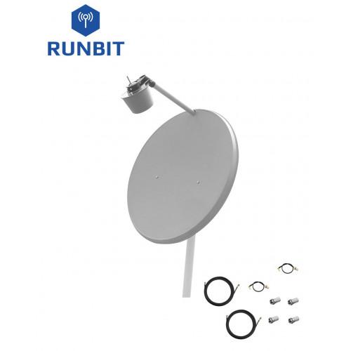 Комплект антенн 3G / 4G LTE MIMO RunBit 2х31 дБ