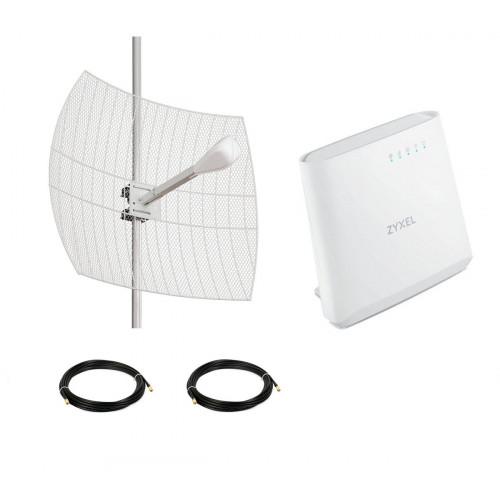 4G LTE комплект параболик Kroks за город