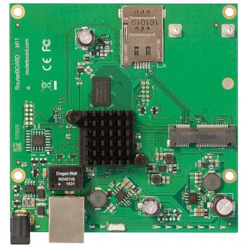 RouterBoard Mikrotik RBM11G для установки 4G модема в гермобокс