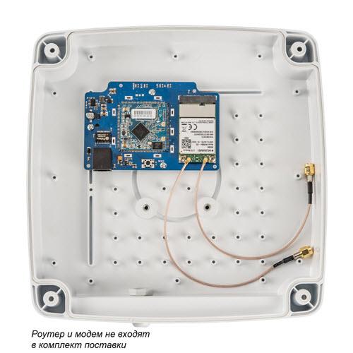 3G/4G MIMO антенна Kroks KAA15-1700/2700 U-BOX для встроенного модема или роутера