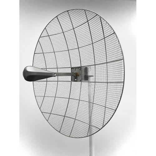 Kroks KNA30-1700/2700 - Параболическая MIMO антенна  30 дБ