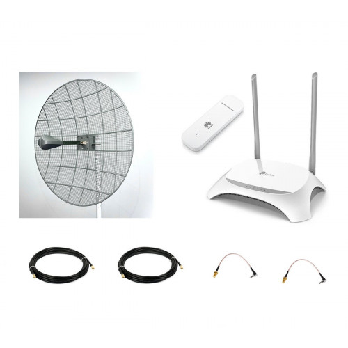 4G интернет комплект параболик Kroks в квартиру