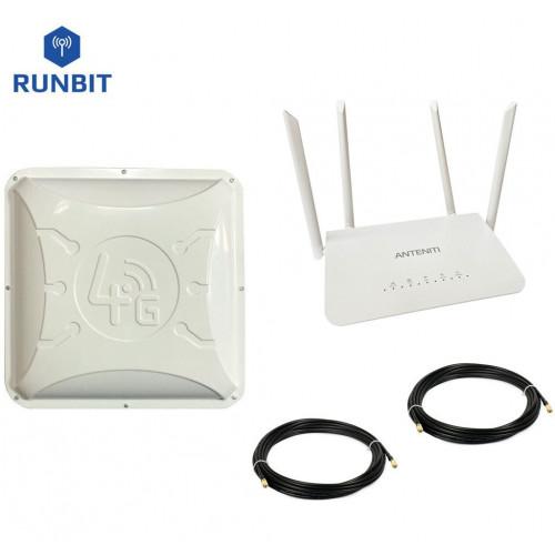 Комплект для 4G интернета Anteniti Готовое решение