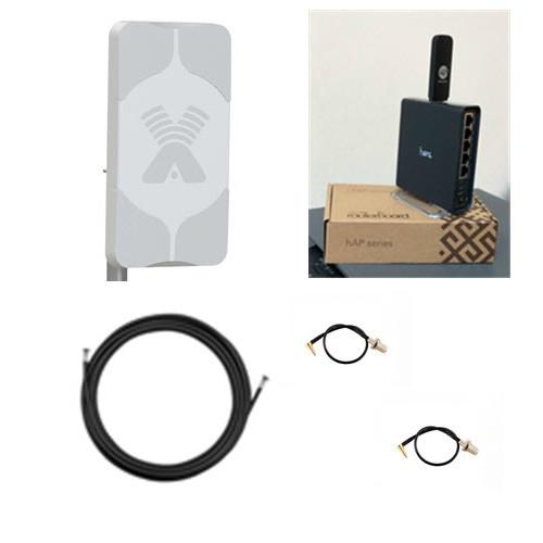 Комплект Home WiFi 4G интернет в частный дом Зона WiFi 150 м