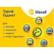 4G/3G интернет Lifecell тариф Гаджет Смарт для смарт-часов, GPS/GSM-сигнализаций