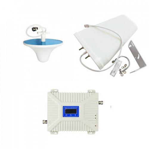 Комплект антенн с 3G / 4G усилителем мобильной связи и интернета 2100/2600 МГц
