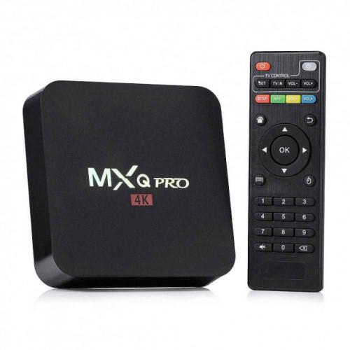 Смарт ТВ приставка MXQ Pro 4K Android 7.1 1/8