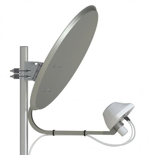 Комплект антенн Premium Inverto + Antex UMO 3F 3G/4G LTE MIMO 2 x 36 dBi
