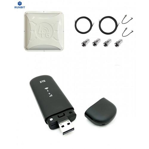 4G интернет комплект RunBit Alta с ZTE MF79U black