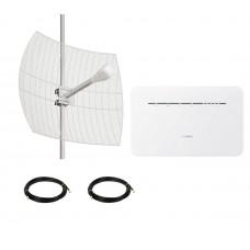 4G LTE MIMO комплект параболик Kroks Базовый