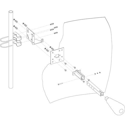 Kroks KNA24-1700/2700 - Параболическая MIMO антенна 24 дБ