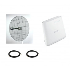 Комплект 4G LTE параболик Kroks за город  Pro Max