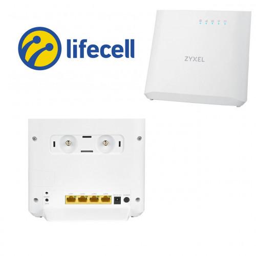 Комплект для беспроводного 3G / 4G интернета Lifecell