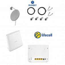 Комплект для 3G / 4G интернета за город Lifecell