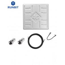 Комплект антенна RunBit Solo 17 дБ